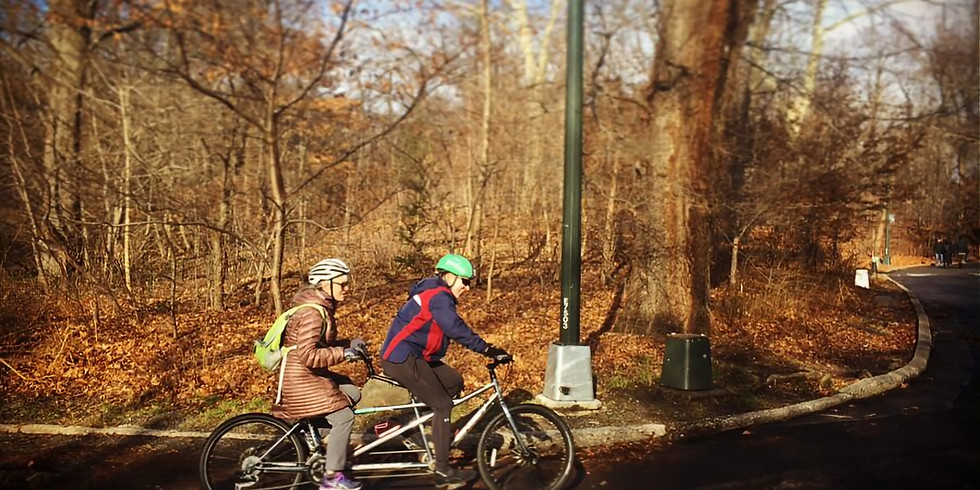 March 16, Saturday Morning Central Park Ride