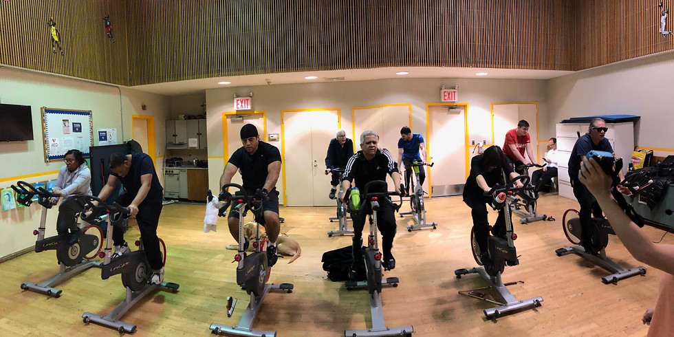 April 3, Wednesday Evening InTandem InDoor Cycling
