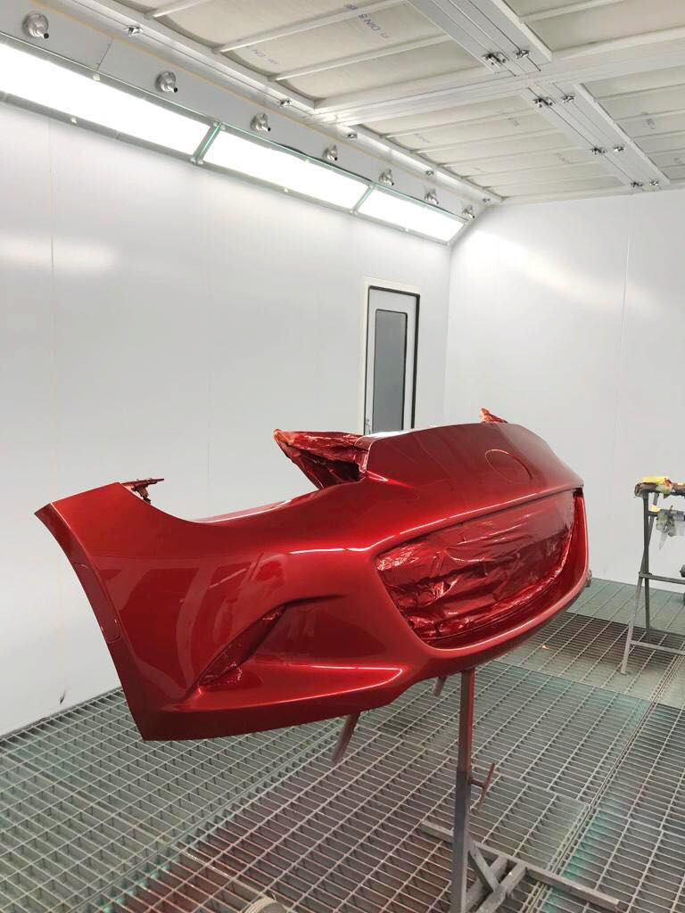 spray booth penketh autobody