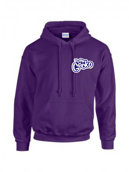 Official Purple Gecko Pull Over Hoody