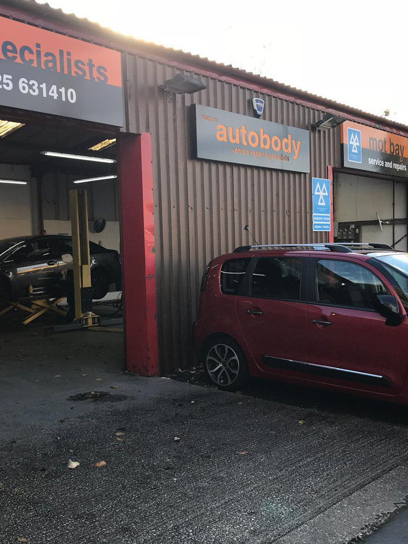 Penketh Auto Body Garage Warrington