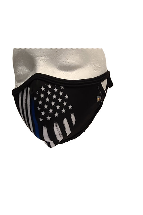 1 Random Color/Designed Safety Face Mask