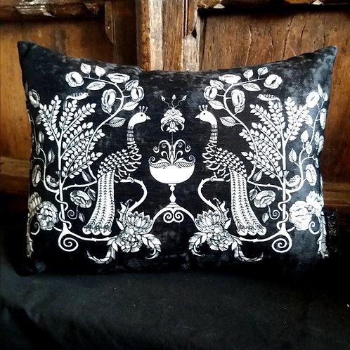 Cushion - Peacock Chalice
