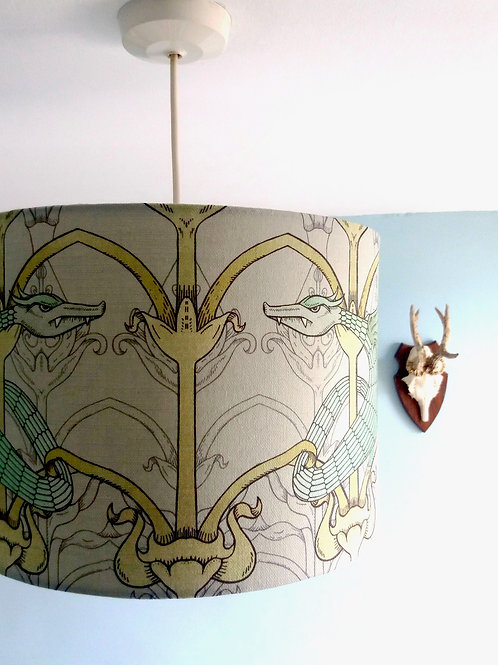 "30cm (12"") Lightshade/Lampshade - Dragon"