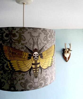 """30cm (12"""") Lightshade - Deaths Head Hawkmoth - PA"""