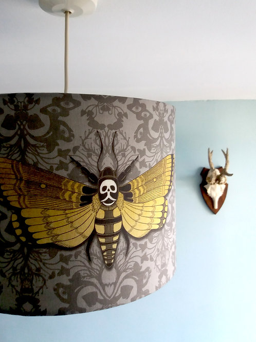 """40cm (16"""") Lightshade - Deaths head Hawkmoth"""