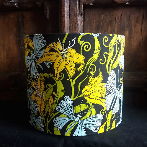 "25cm (10"") Lamp shade - Floral Jungle"