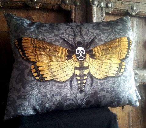 Deaths-Head Hawkmoth Cushion - PA