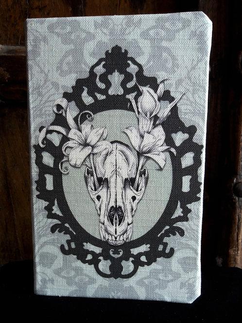 A5 notebook - Wolf Skull, Frame