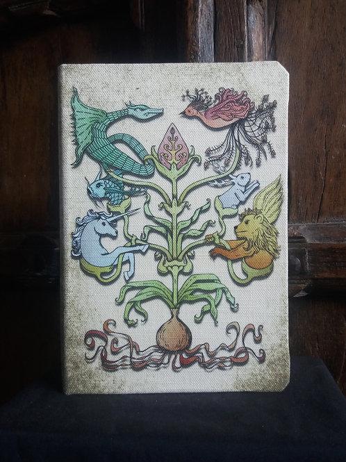 A5 notebook - Mythological Totem