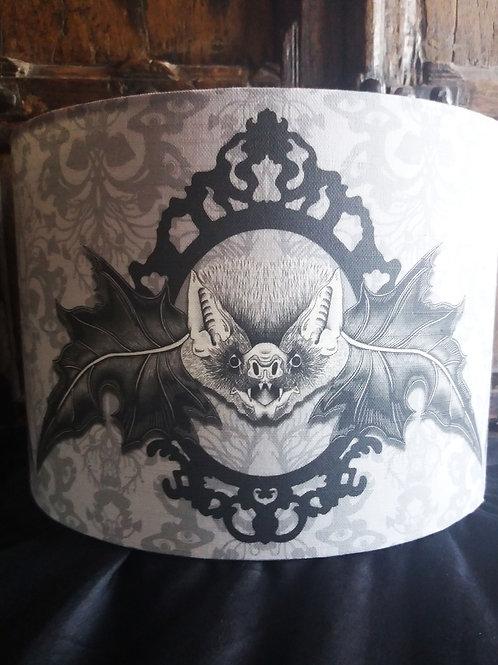 """25cm (10"""") Lamp shade - 'Mr. Bat'"""