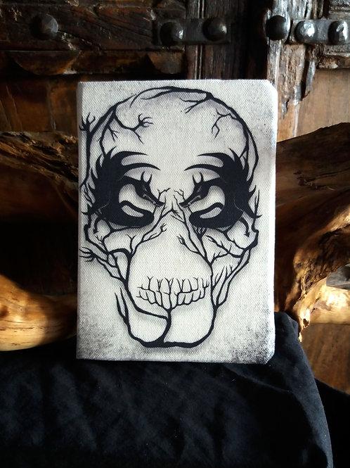 A5 2021 Diary - Demon Skull