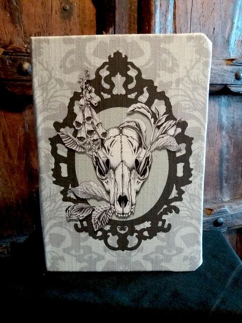 A5 notebook - Fox Skull, Frame