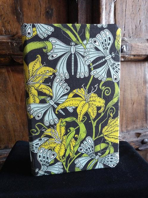A5 notebook - Floral Jungle (pattern from Kiyiya)