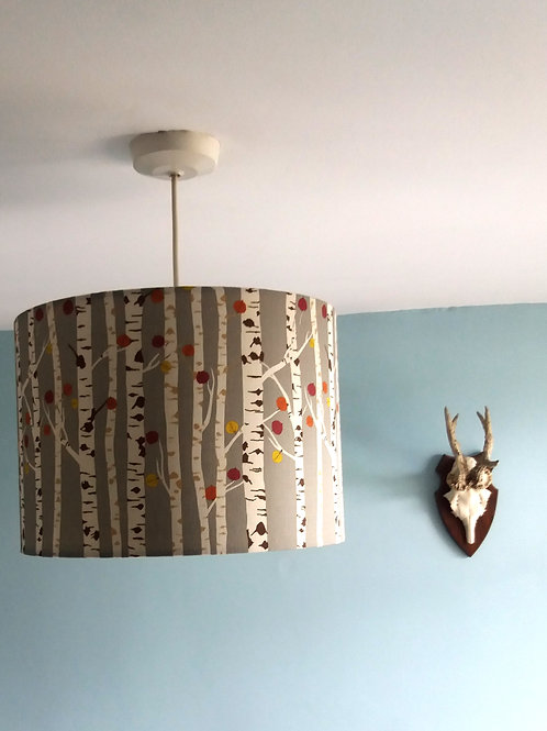 "40cm (16"") Lightshade/Lampshade - Autumn Woodland"