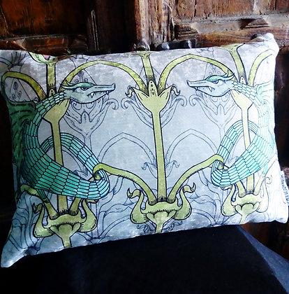 Victorian Gothic 'Dragon' Cushion - PA