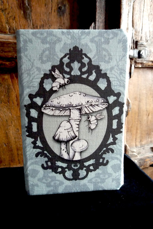 A5 notebook - Toadstool