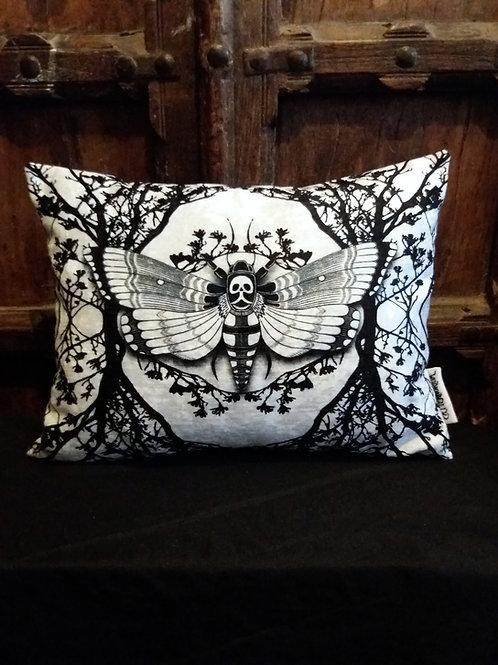Ghost moth Cushion - White