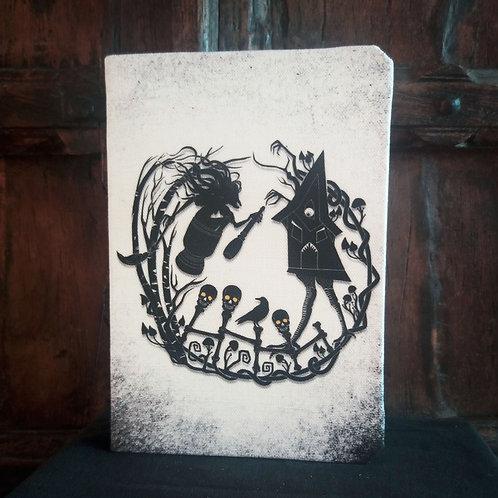 A5 notebook - Baba Yaga Tale