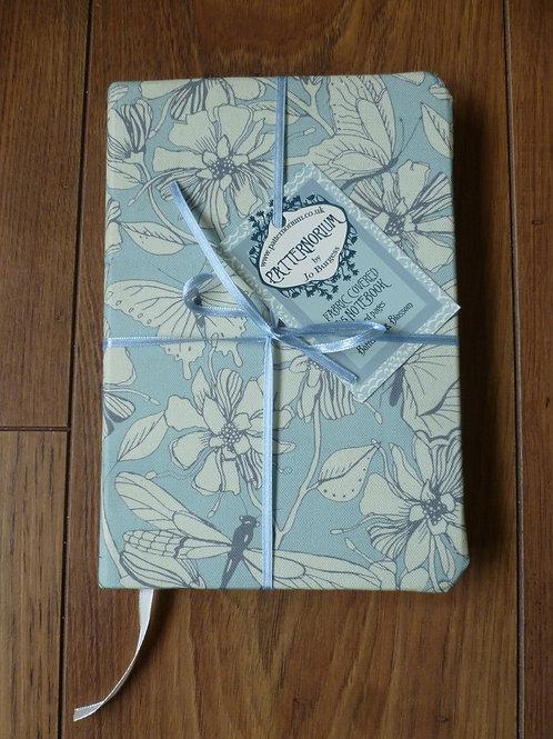 A5 notebook - Butterflies and Blossom