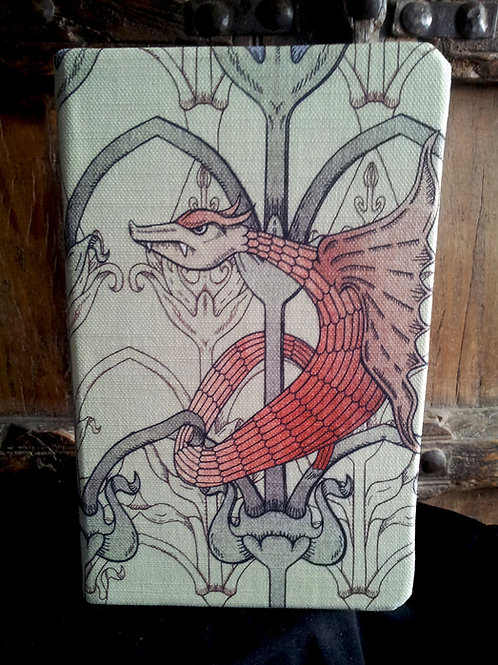A5 notebook - Red Dragon