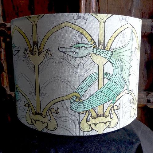 "25cm (10"") Lamp shade - Dragon"