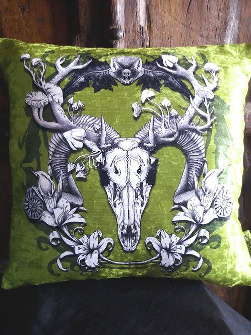 Resurrection - Spring Green - Bayeux Velvet