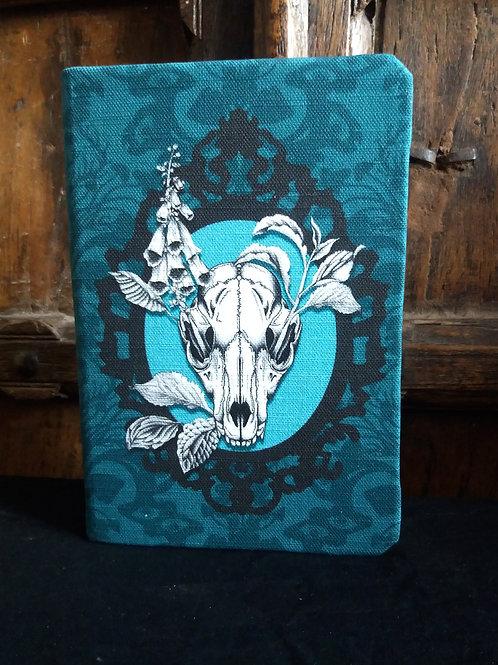 A5 notebook - Fox Skull - JADE