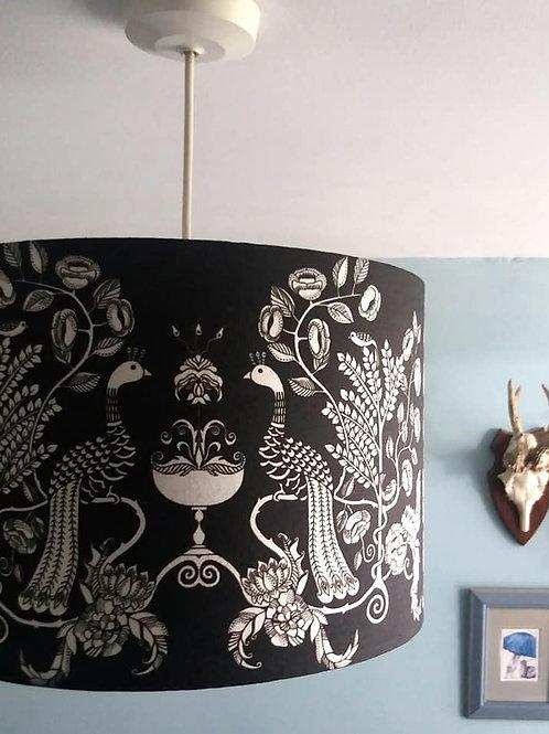 "30cm (12"") Lightshade - 'Peacock Chalice'"