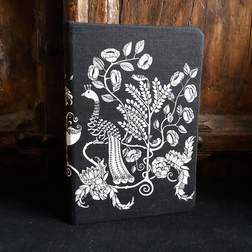 A5 notebook - Peacock Chalice