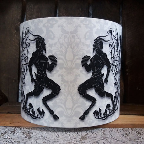 "25cm (10"") Lamp shade - 'Patterned Pan'"