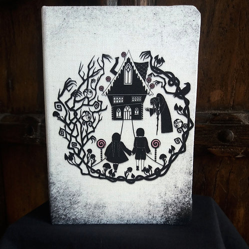 A5 notebook - Hansel and Gretel