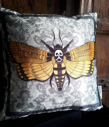Flight of Fancy Cushion - Bayeux Velvet - PA