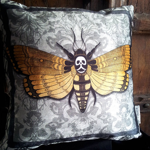 Flight of Fancy Cushion - Bayeux Velvet