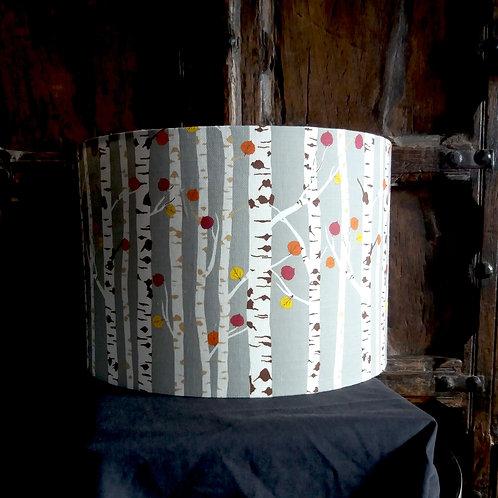 "25cm (10"") Lamp shade - Autumn Woodland"