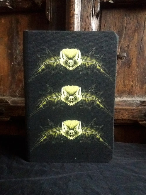A5 notebook - Mr Bat Black and gold
