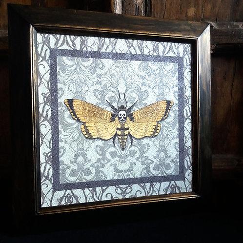 Framed textured Wallpaper Art print - Flight of Fancy
