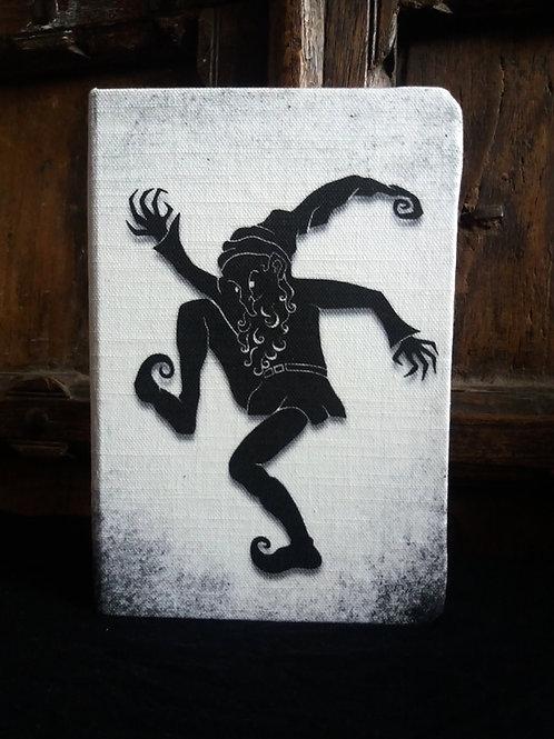 A5 notebook - Rumplestitskin figure