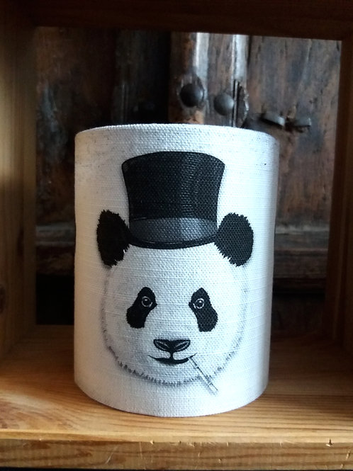 small fabric lantern - Dandy Panda