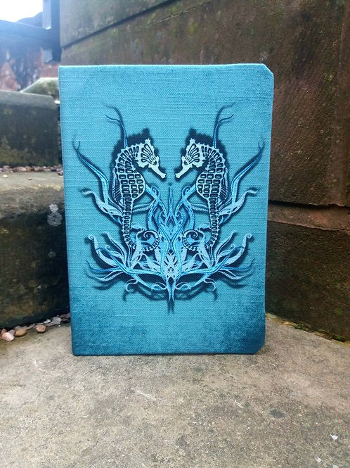 A5 notebook - Seahorse