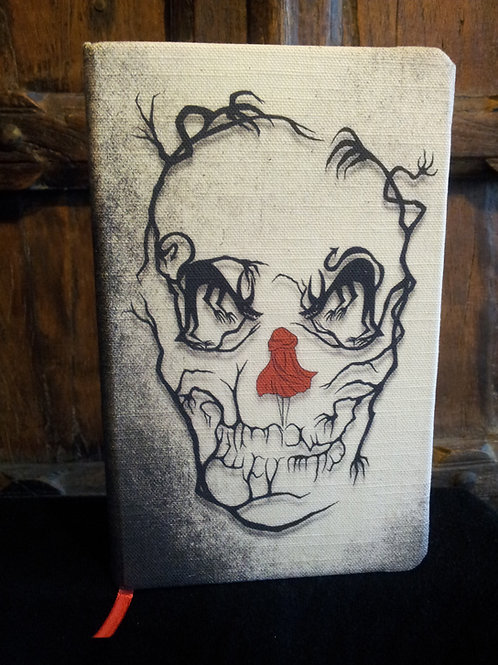 A5 notebook - Little Red Riding hood/Skull