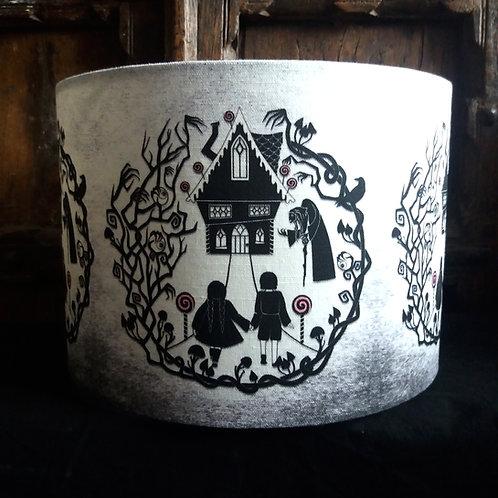 "25cm (10"") Lamp shade - Hansel and Gretel"