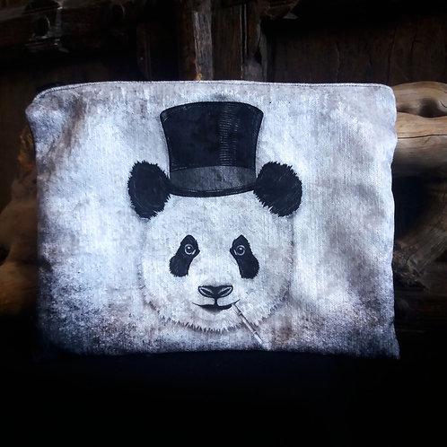 Large Zip Pouch - Dandy Panda