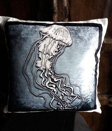 Jellyfish Cushion - Bayeux Velvet  PA