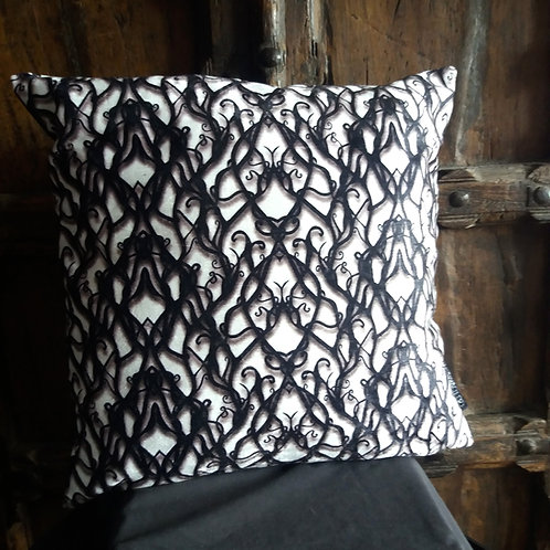 Tied in Knots Cushion - Bayeux Velvet