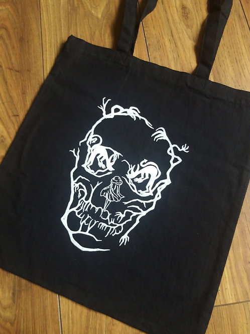 Tote bag - Red Riding hood/Skull (3D)