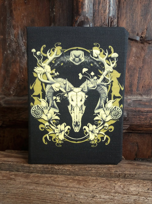 A5 2021 Diary - Spring Resurrection - black and gold