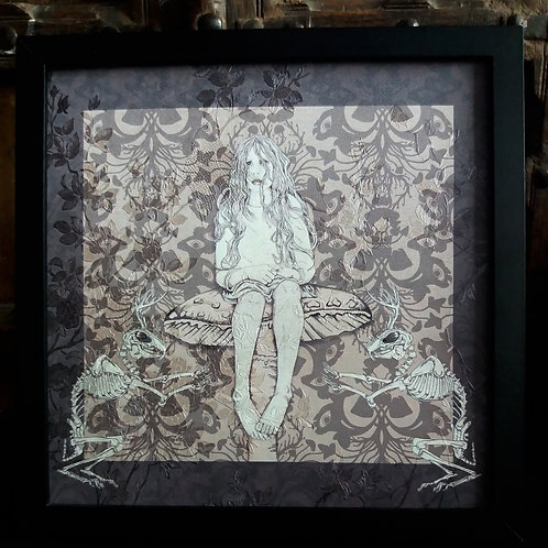 Beautiful Nightmare Framed Wallpaper Print