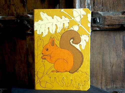 A5 notebook - Squirrel