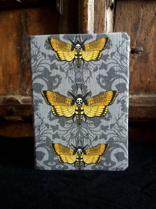 A5 2021 Diary - Deaths Head Hawk Moth